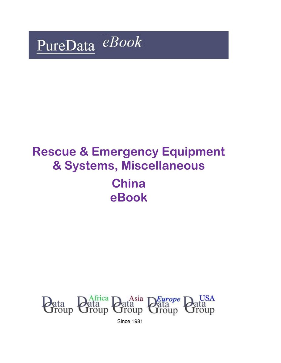 Rescue & Emergency Equipment & Systems, Miscellaneous in China