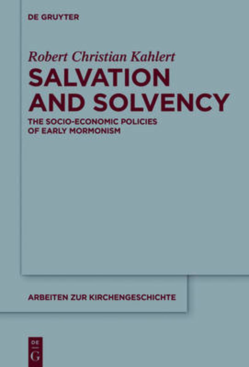 Salvation and Solvency