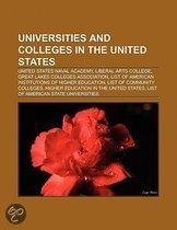 Universities and colleges in the United States