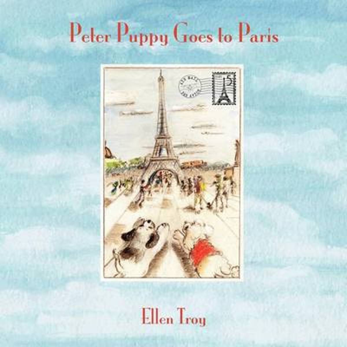 Peter Puppy Goes to Paris