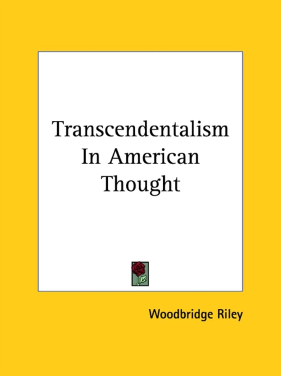 Transcendentalism in American Thought
