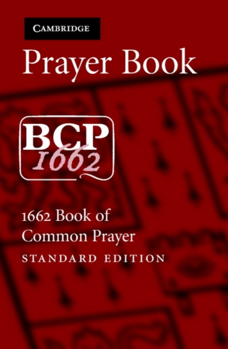 BCP Standard Edition Prayer Book BCP603 Black French Morocco Leather