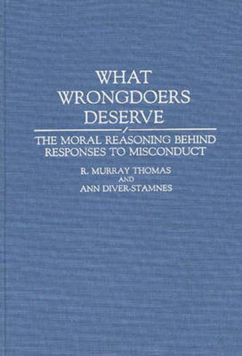 What Wrongdoers Deserve
