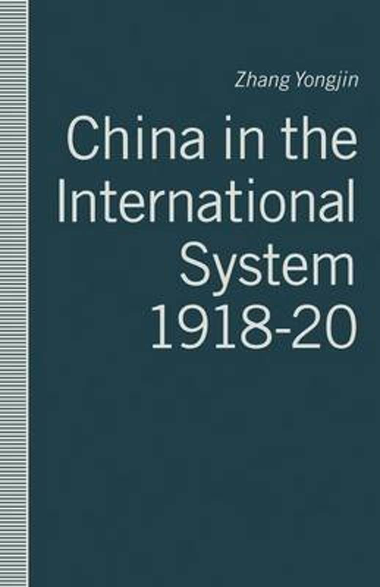 China in the International System, 1918-20