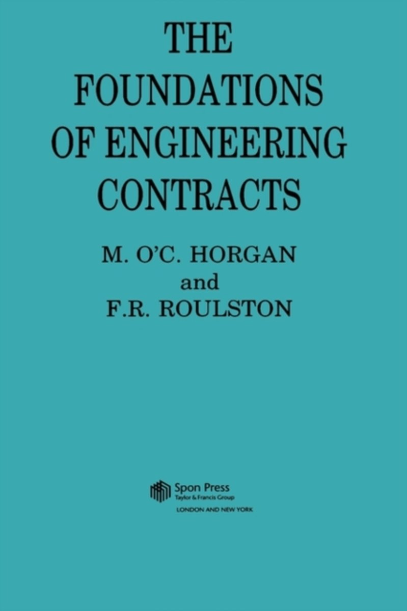 The Foundations of Engineering Contracts