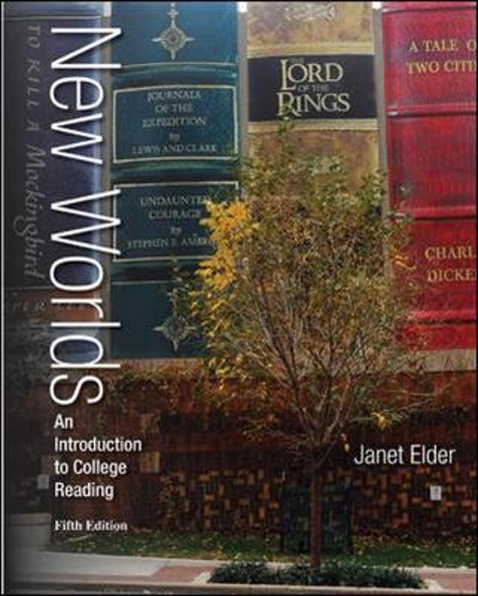 Annotated Instructor's Edition for New Worlds