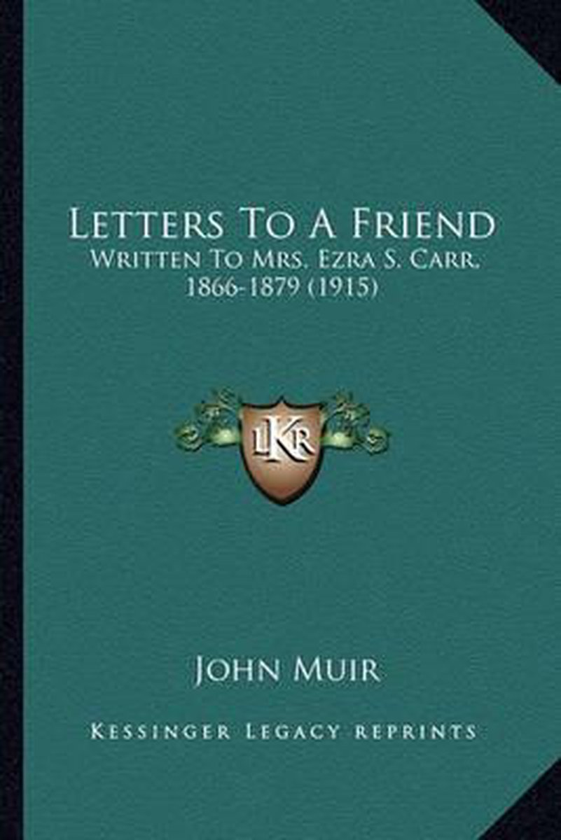 Letters to a Friend Letters to a Friend