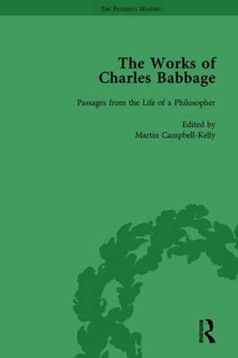The Works of Charles Babbage Vol 11