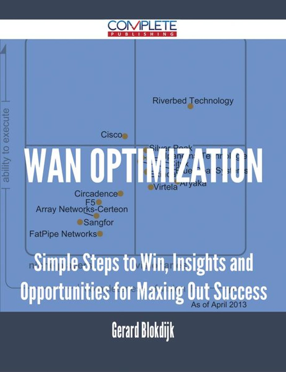WAN Optimization - Simple Steps to Win, Insights and Opportunities for Maxing Out Success