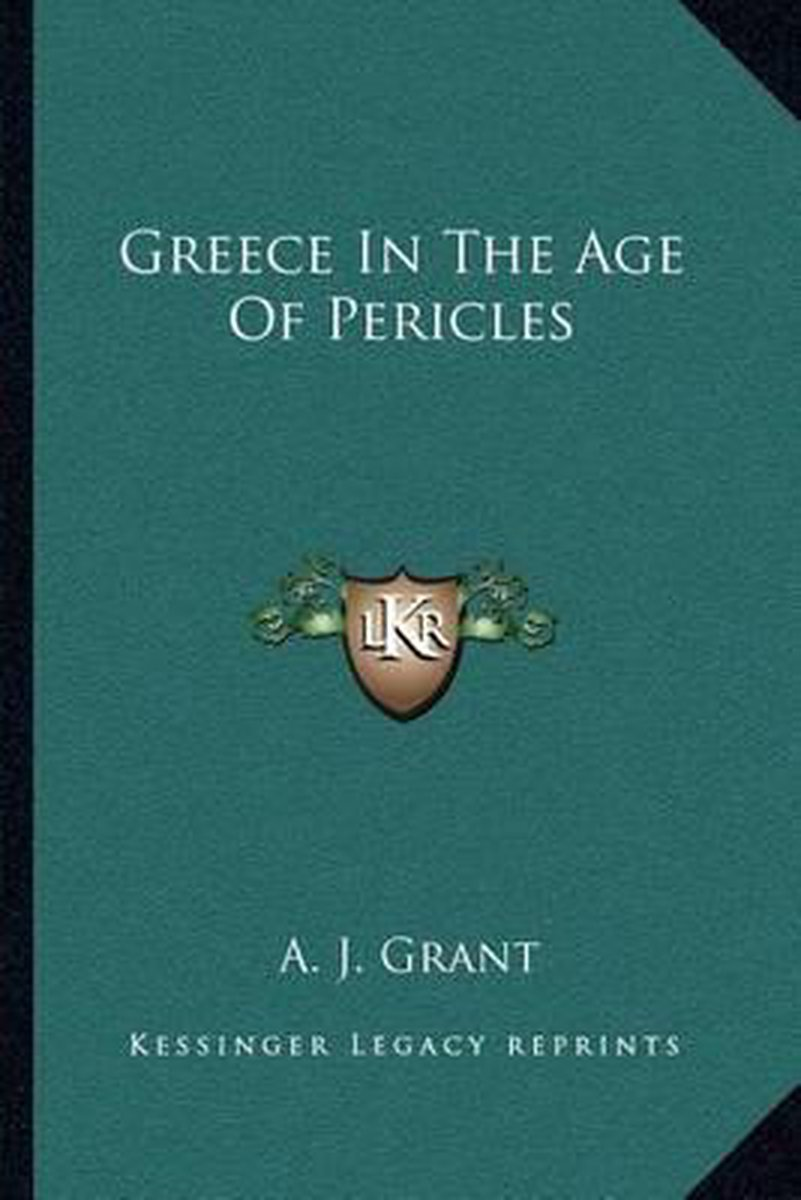 Greece in the Age of Pericles
