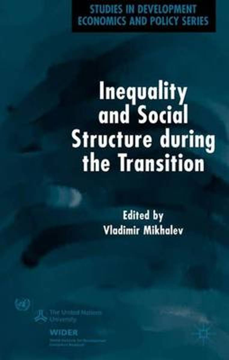 Inequality and Social Structure During the Transition