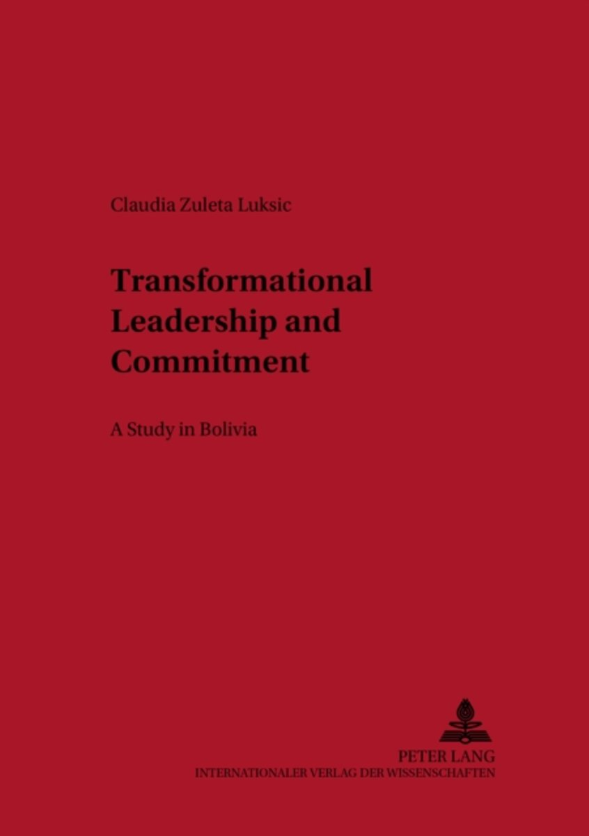 Transformational Leadership and Commitment
