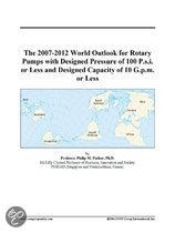 The 2007-2012 World Outlook for Rotary Pumps with Designed Pressure of 100 P.S.I. Or Less and Designed Capacity of 10 G.P.M. Or Less