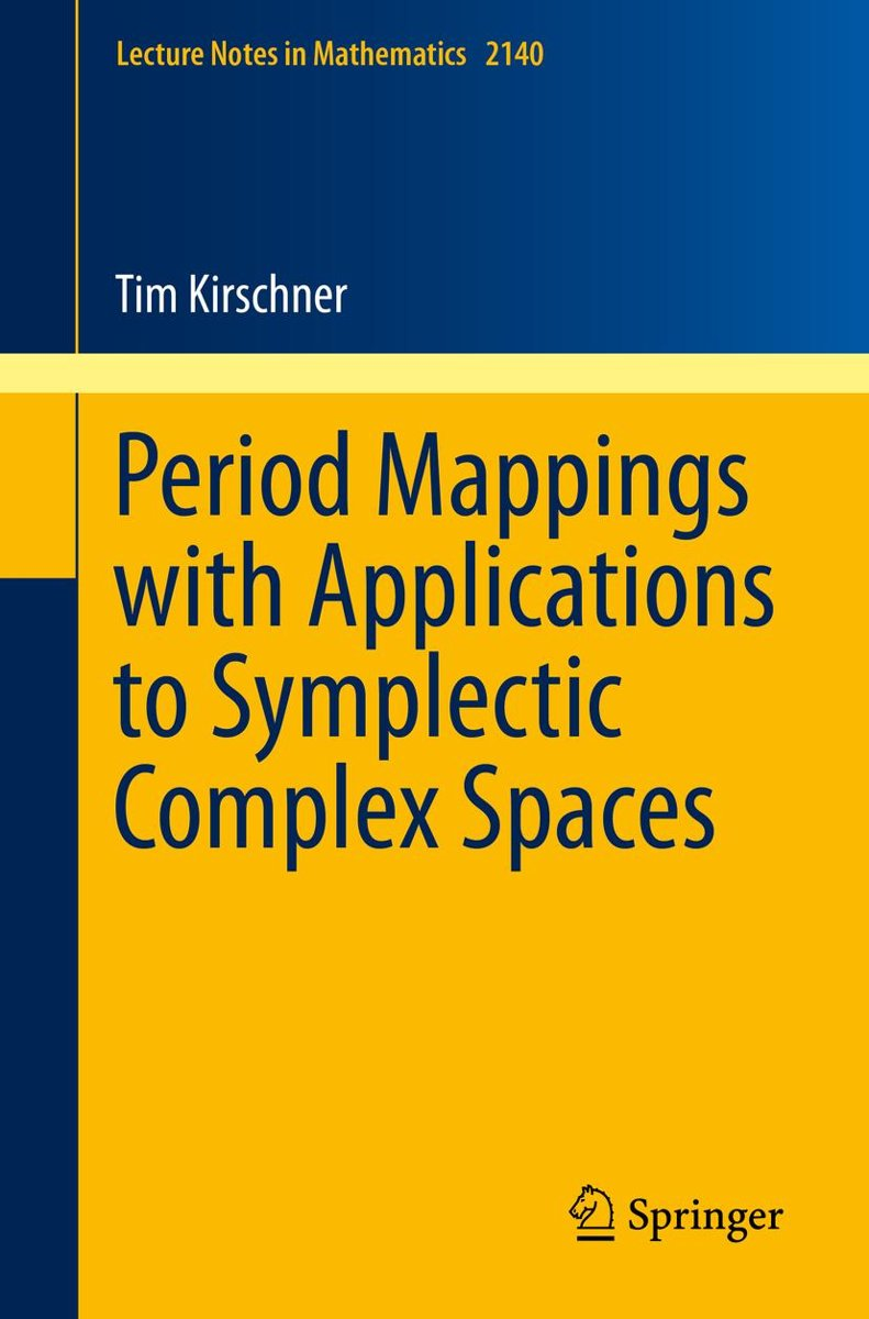 Period Mappings with Applications to Symplectic Complex Spaces