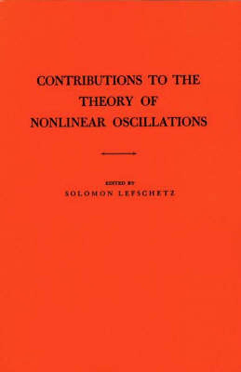 Contributions to the Theory of Nonlinear Oscillations (AM-20), Volume I