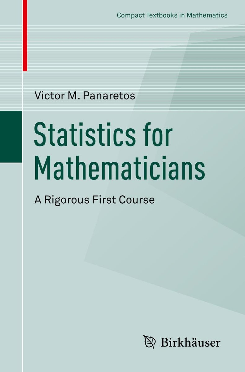 Statistics for Mathematicians