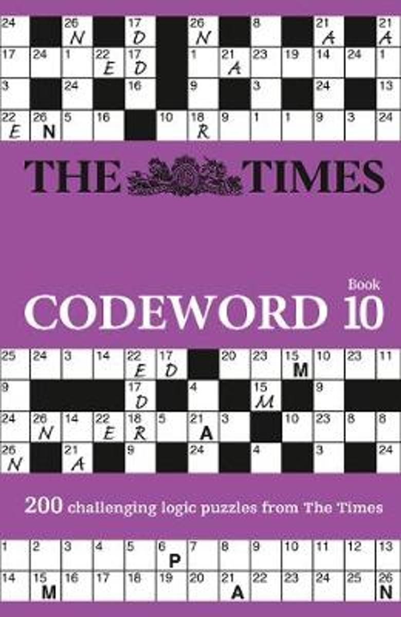 The Times Codeword 10