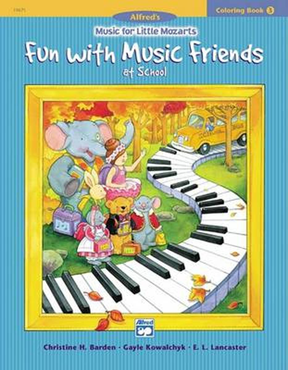 Music for Little Mozarts Coloring Book, Bk 3