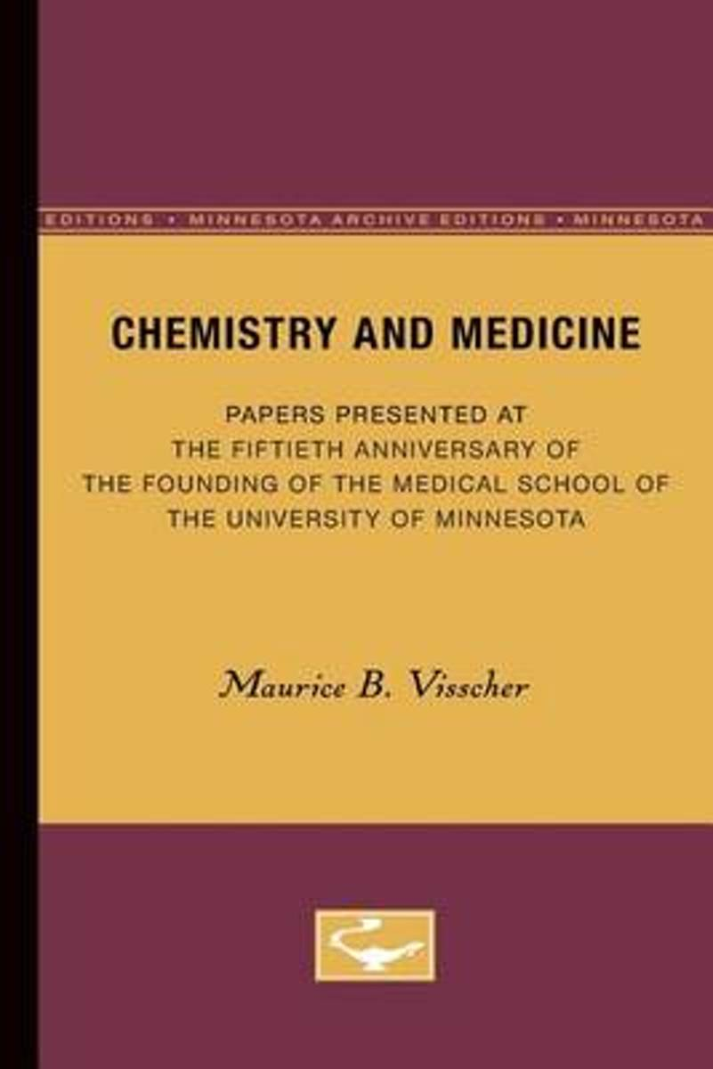 Chemistry and Medicine