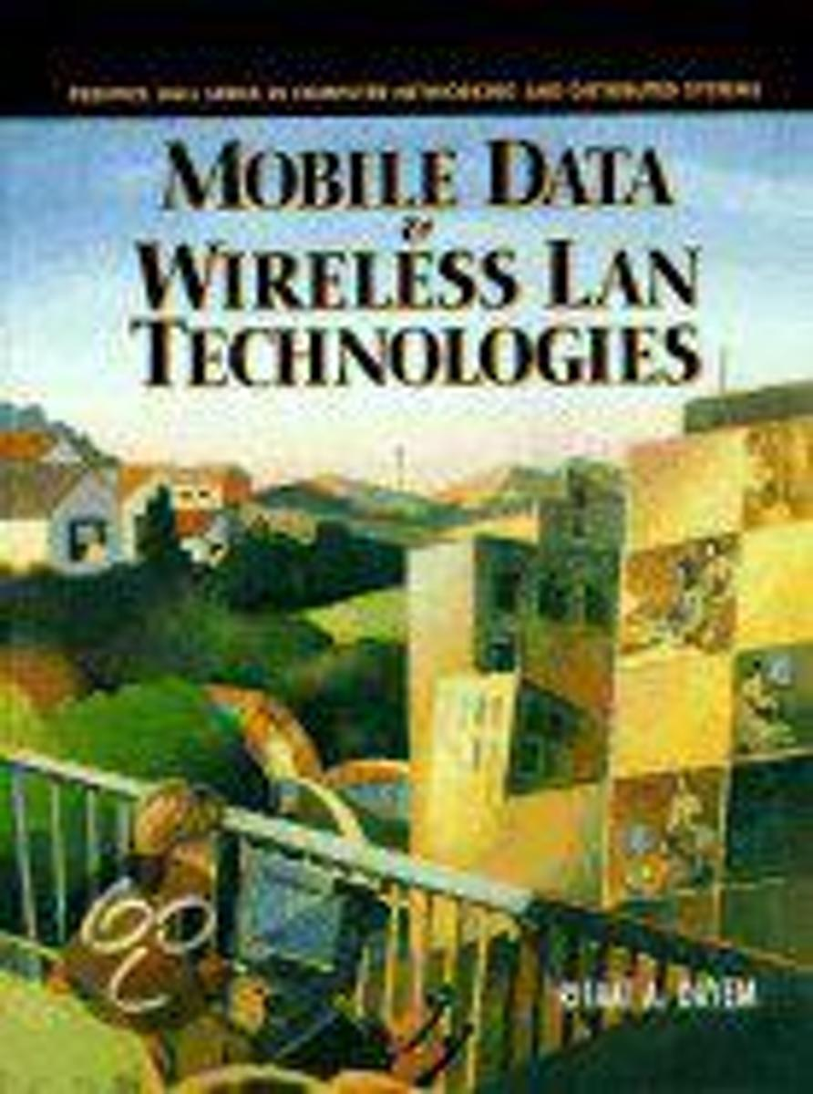 Mobile Data and Wireless Lan Technologies