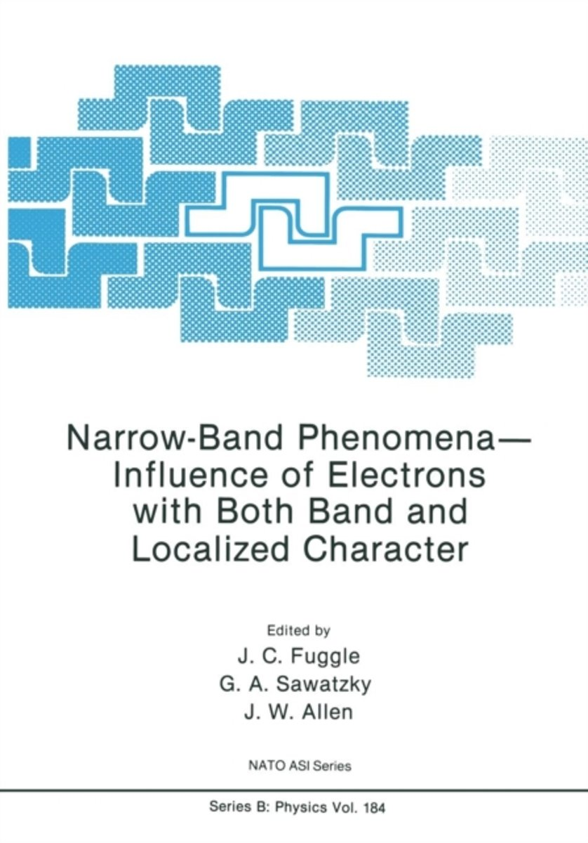 Narrow-Band Phenomena-Influence of Electrons with Both Band and Localized Character