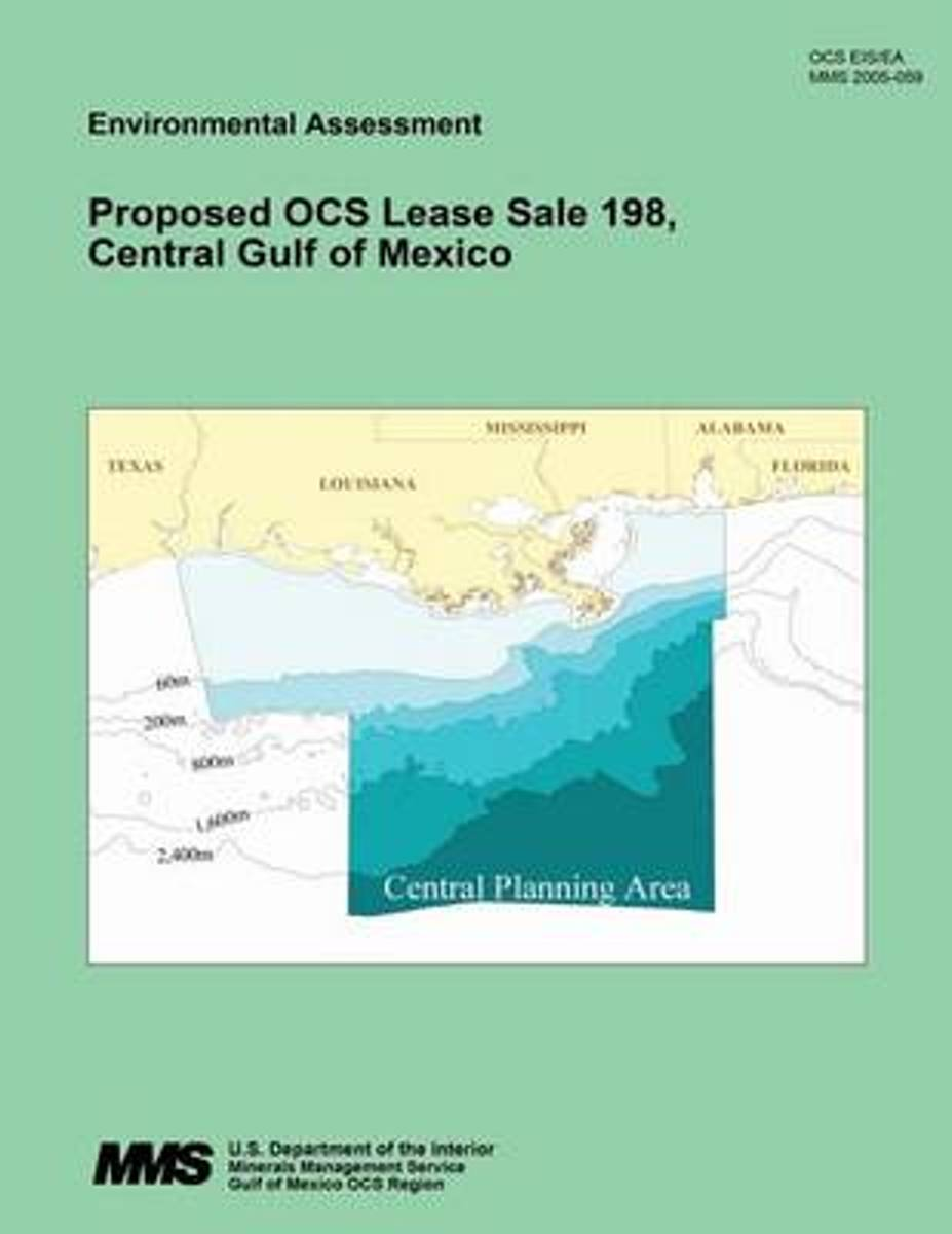 Proposed Ocs Lease Sale 198. Central Gulf of Mexico