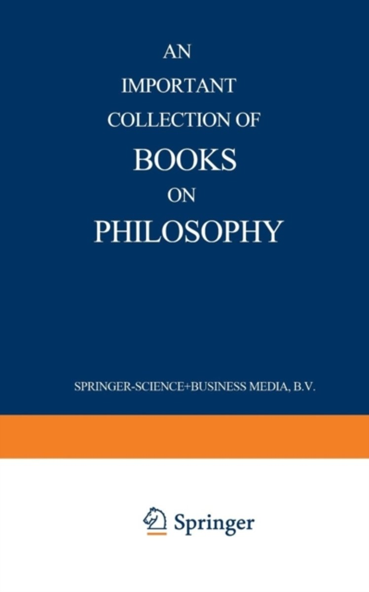 An Important Collection of Books on Philosophy
