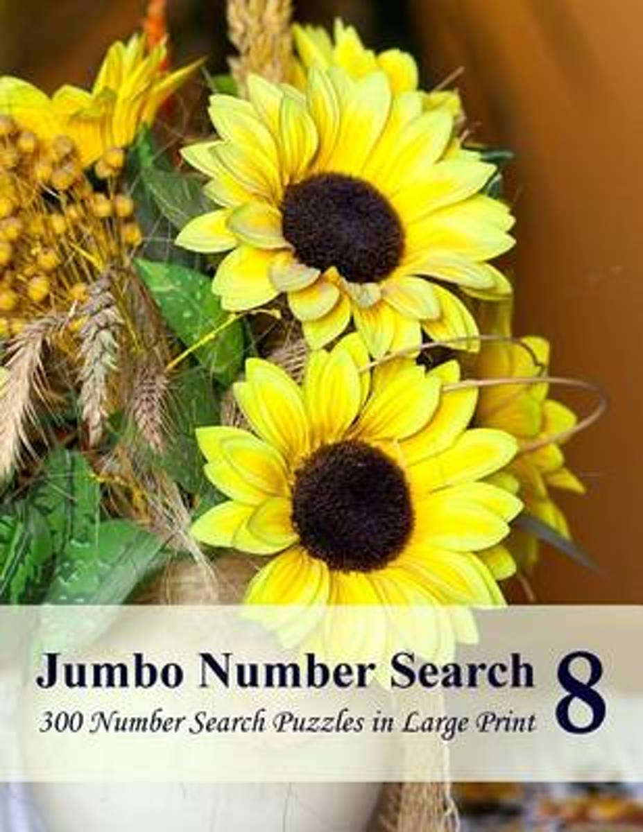 Jumbo Number Search 8