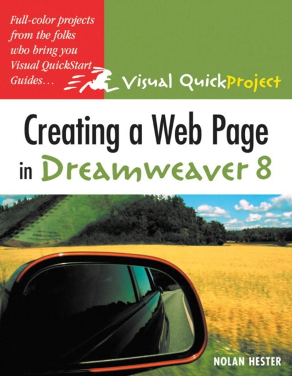 Creating A Web Page In Dreamweaver 8