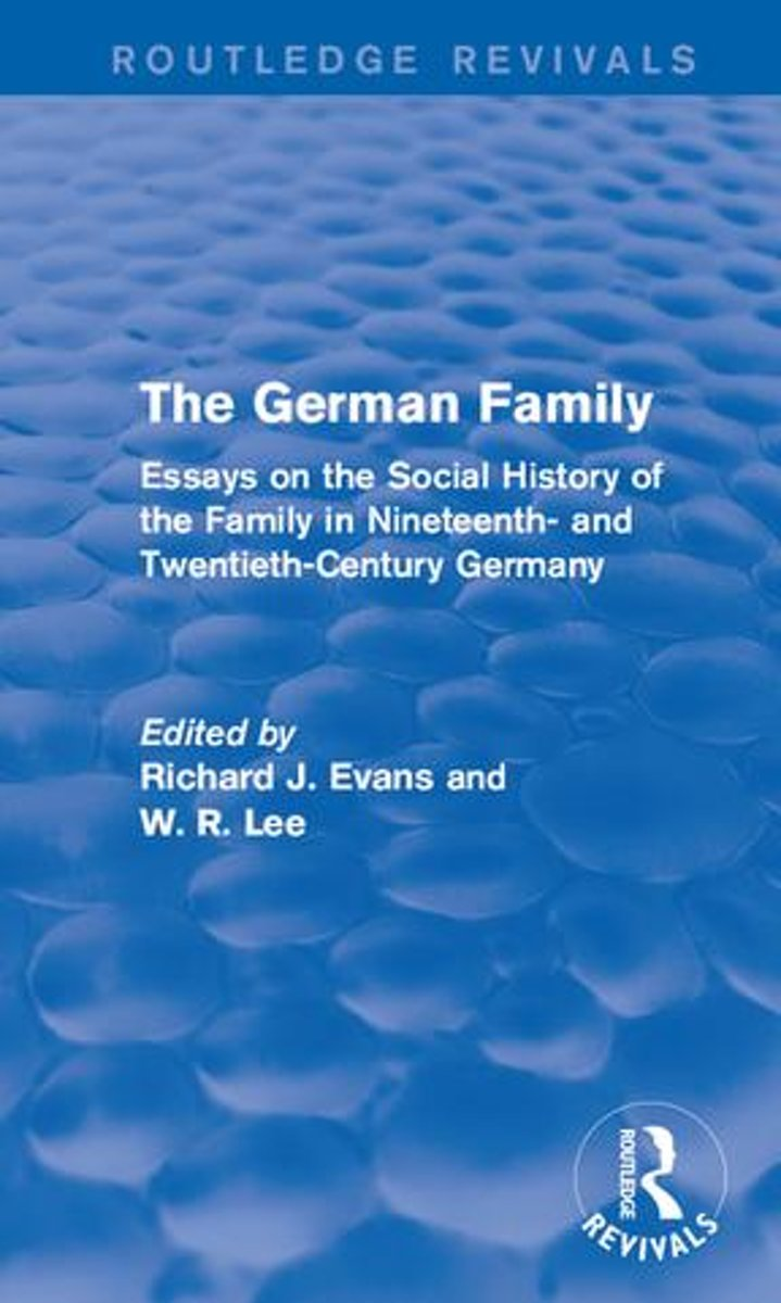 The German Family (Routledge Revivals)
