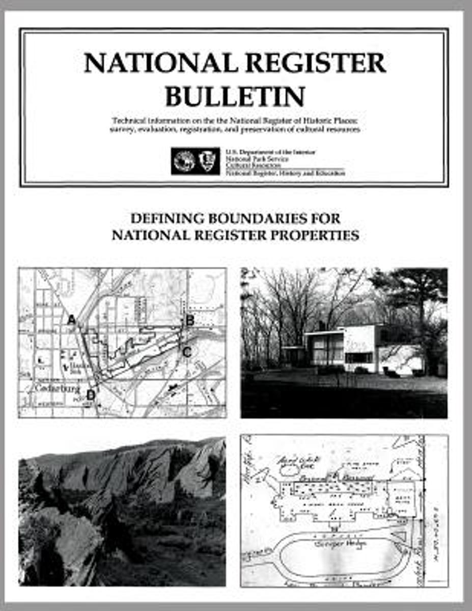 Defining Boundaries for National Register Properties