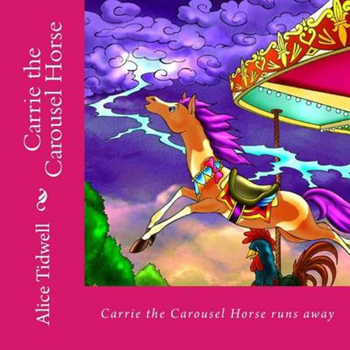 Carrie the Carousel Horse