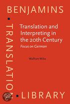 Translation and interpreting in the 20th century