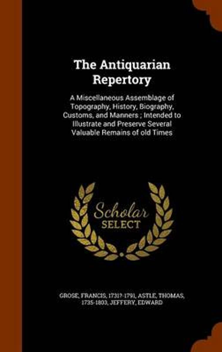 The Antiquarian Repertory