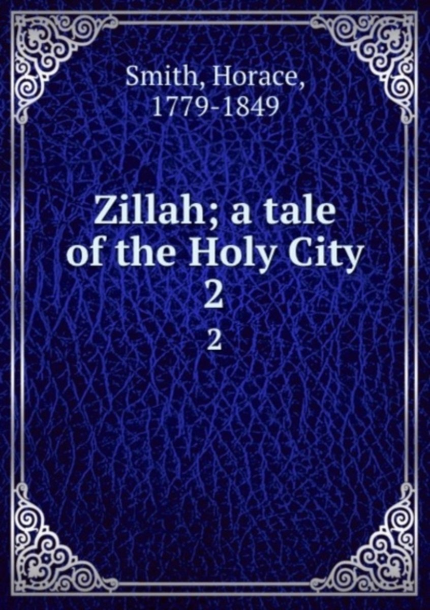Zillah; a Tale of the Holy City