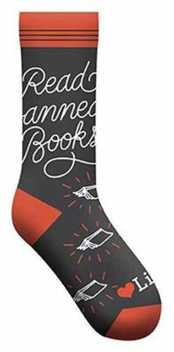 Read Banned Books Socks