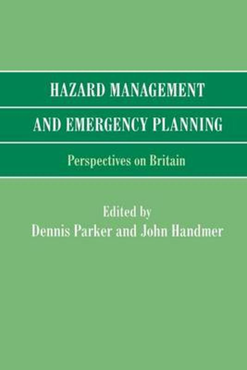 Hazard Management and Emergency Planning