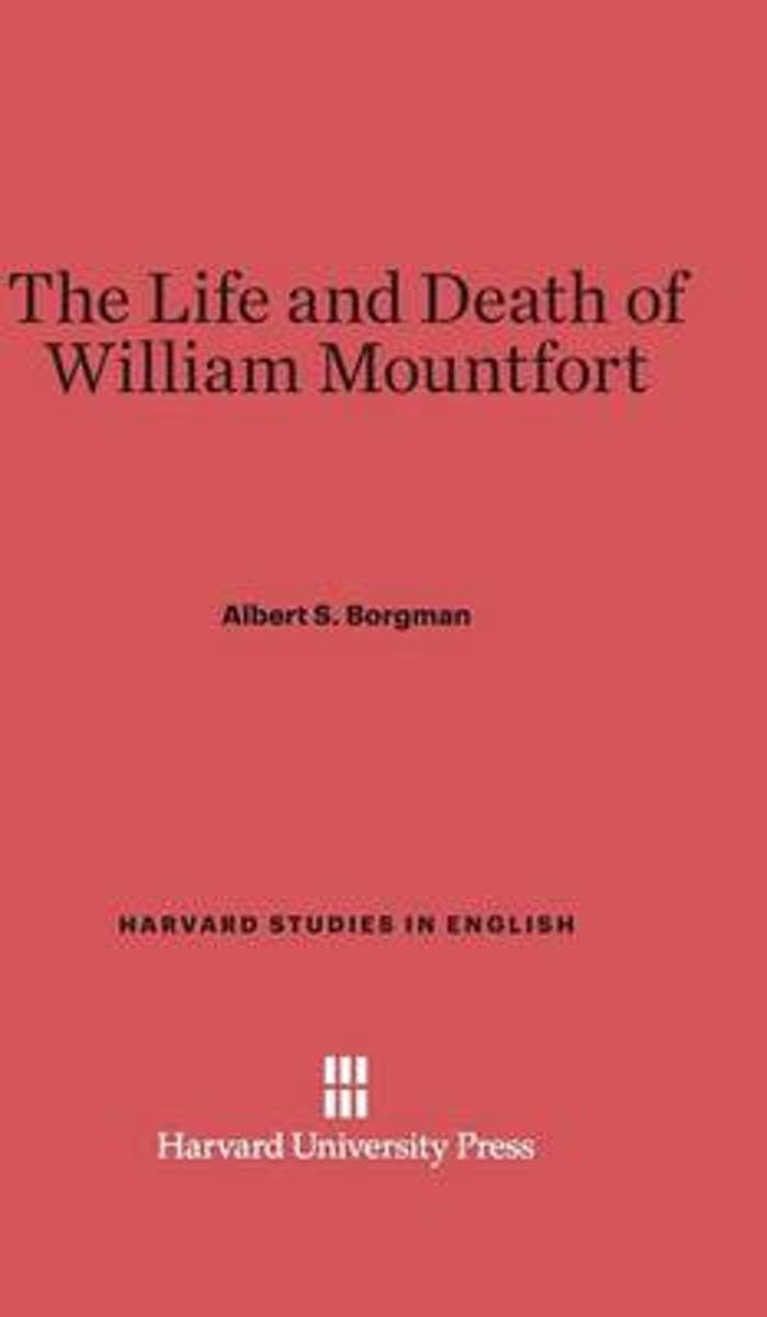 The Life and Death of William Mountfort