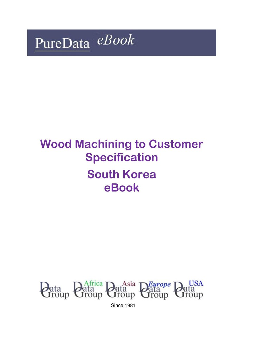 Wood Machining to Customer Specification in South Korea