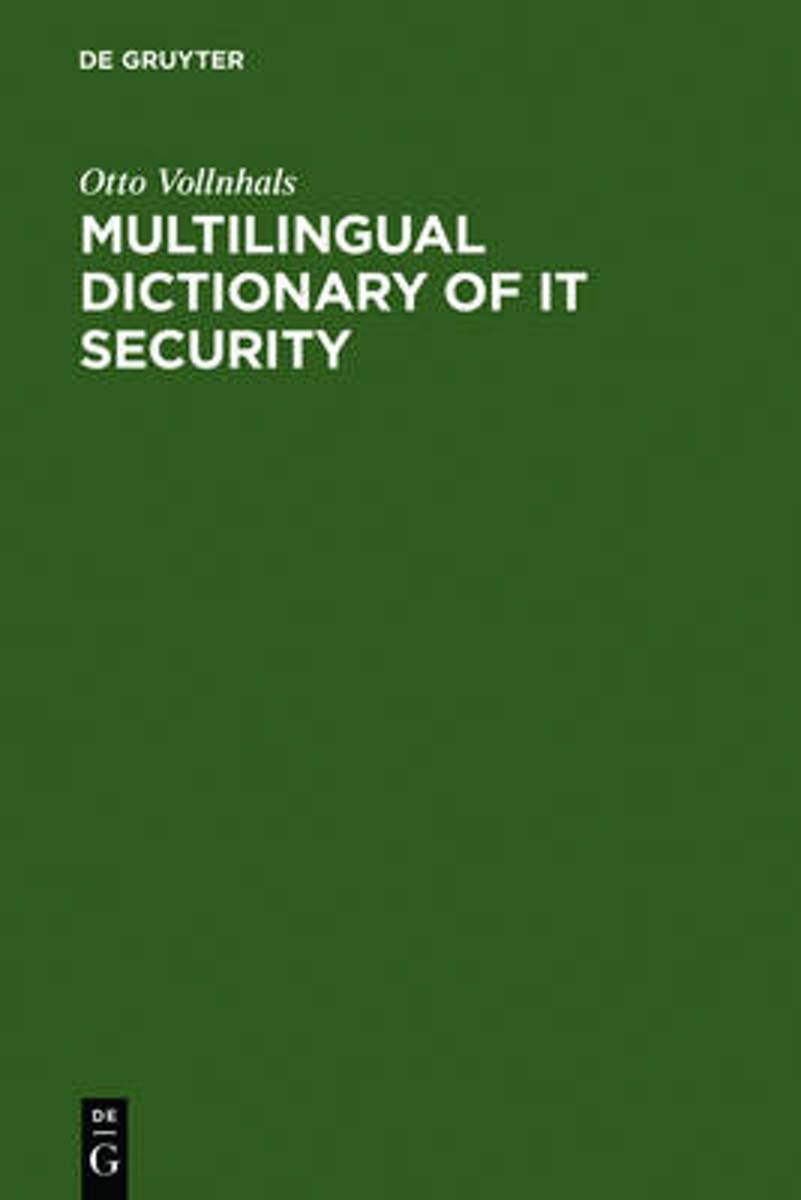 Multilingual Dictionary of IT Security