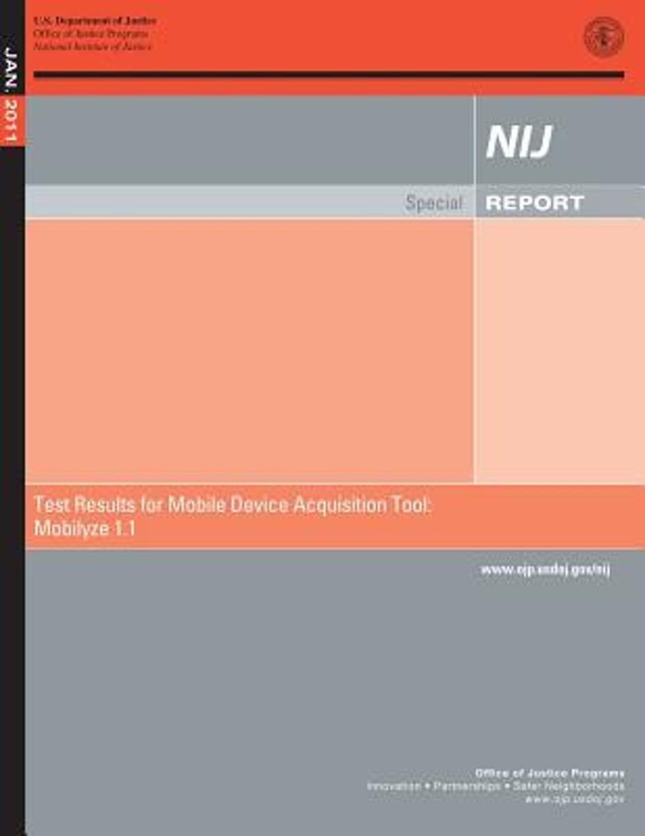 Test Result for Mobile Device Acquisition Tool