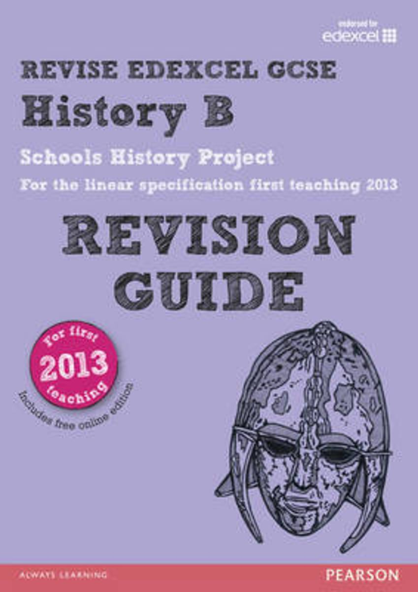 REVISE Edexcel GCSE History B Schools History Project Revision Guide (with online edition)