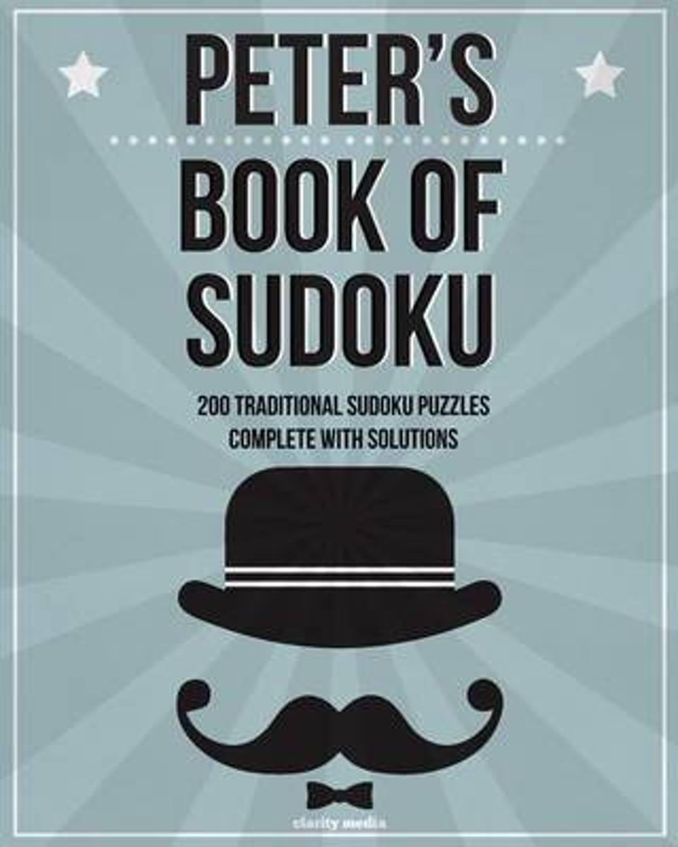 Peter's Book of Sudoku
