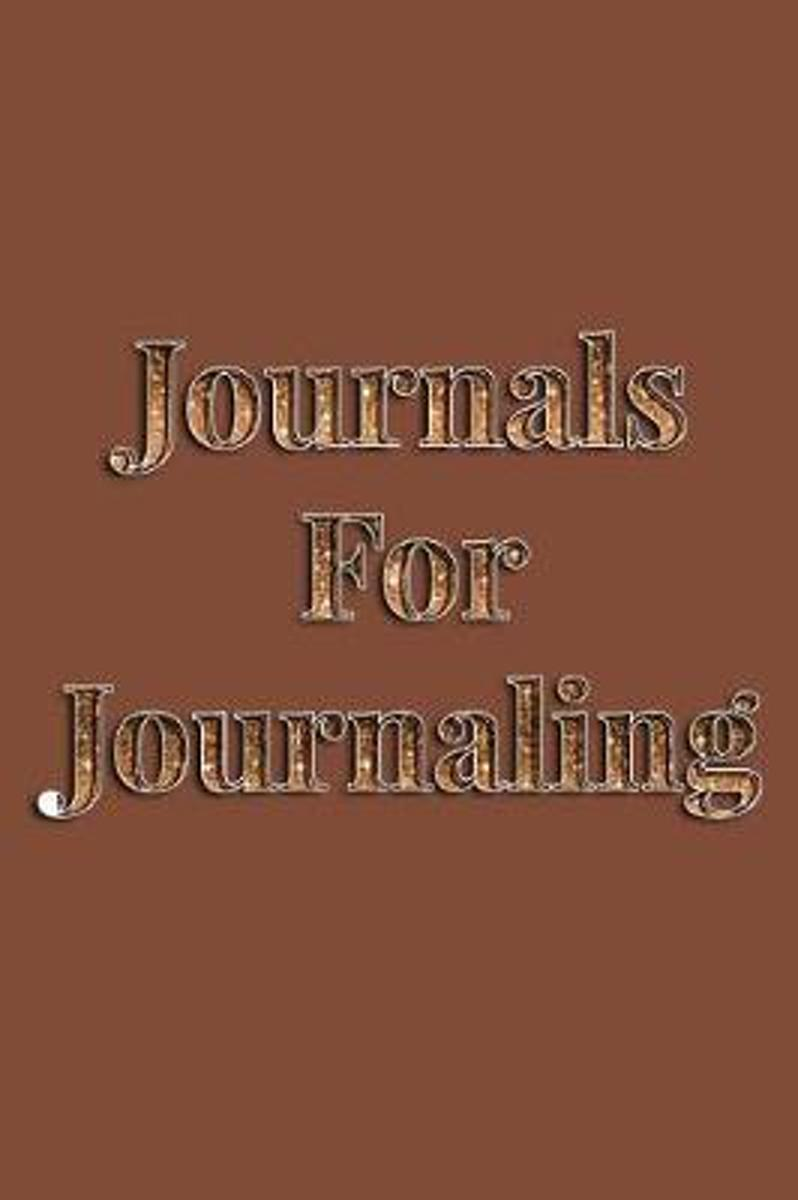 Journals for Journaling