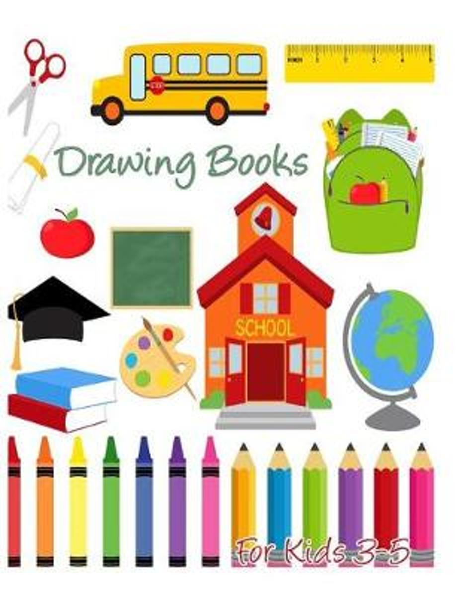 Drawing Books for Kids 3-5