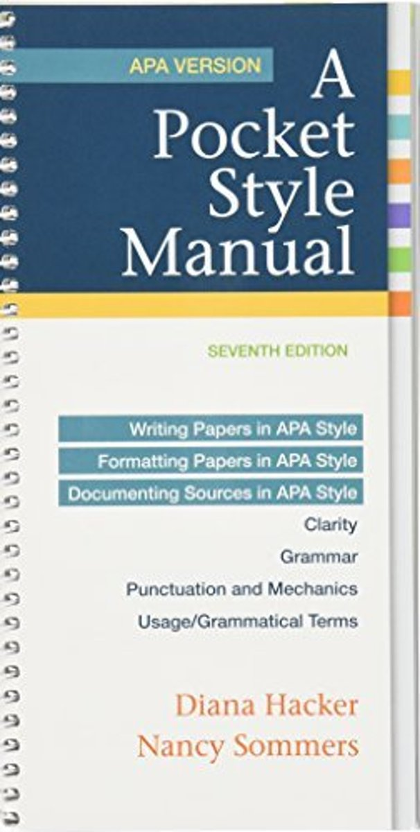 A Pocket Style Manual, APA Version 7e & Launchpad Solo for a Pocket Style Manual 7e (Six Month Access)