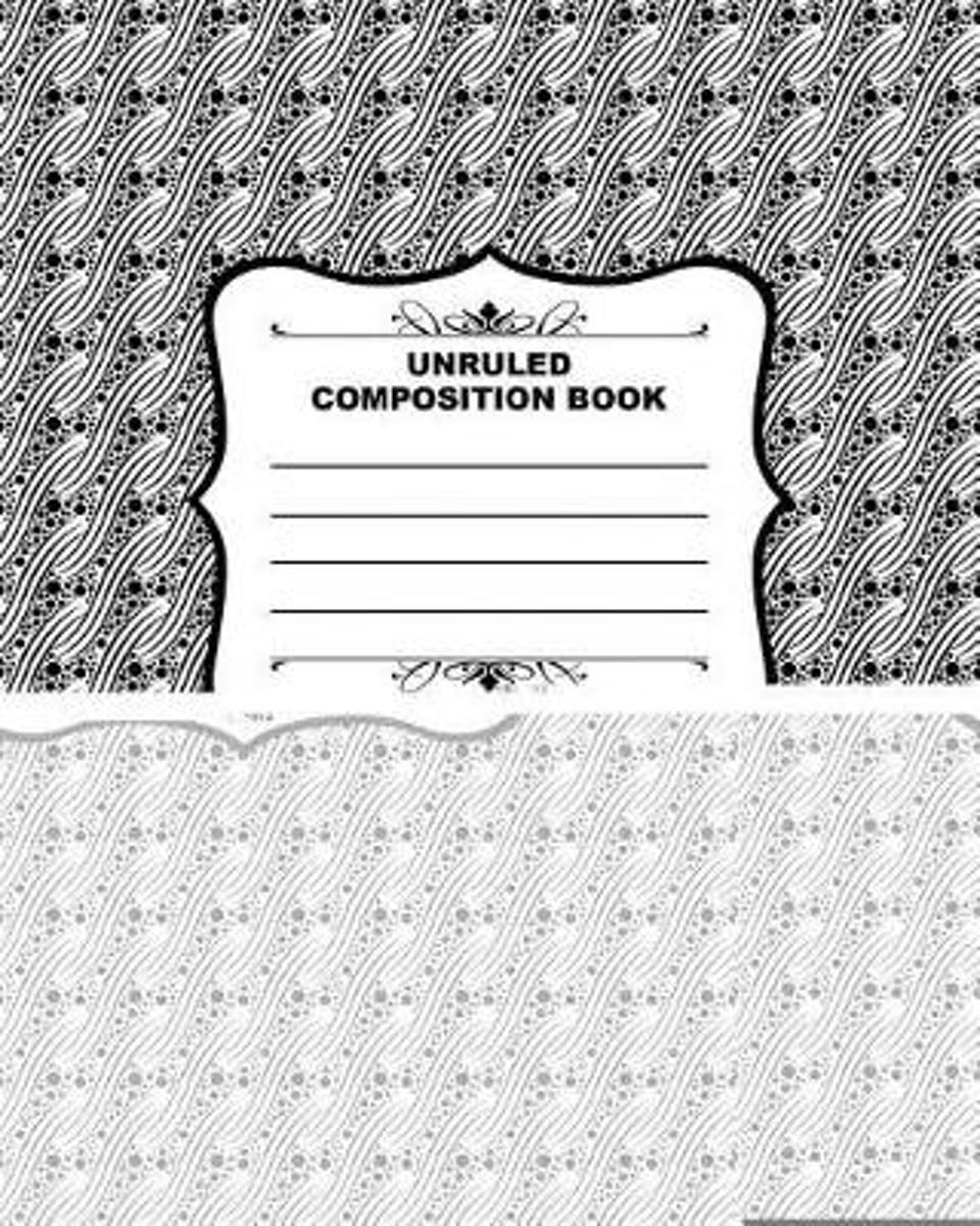 Unruled Composition Book 014