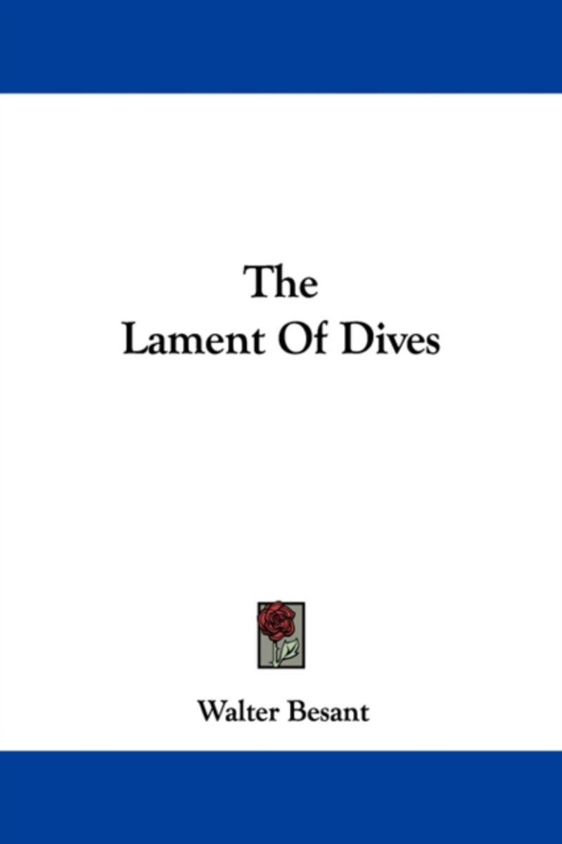 the Lament of Dives