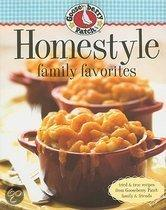 Gooseberry Patch Homestyle Family Favorites