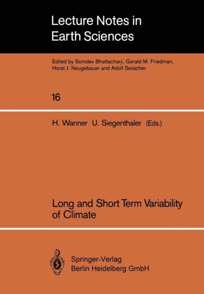 Long and Short Term Variability of Climate